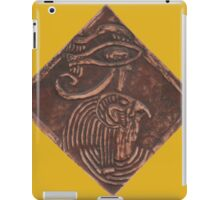 Horus in Leather iPad Case/Skin