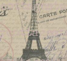 Paris in my heart Sticker
