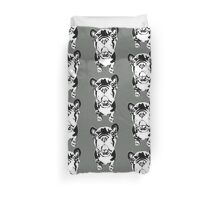 French Bulldog Graphic Translation Duvet Cover