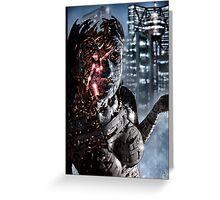 Cyberpunk Painting 048 Greeting Card