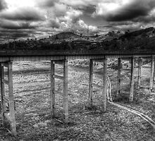 Bonnie Doon  road bridge over Lake Eildon, Victoria by Ashpix