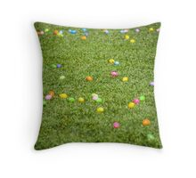 Happy Easter! Bunny just have been here! Throw Pillow