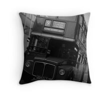 On The Buses Throw Pillow