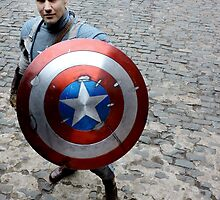 Michael Mulligan as Captain America (2.1 - Photography by Misty Autumn Imagery) by mostdecentthing