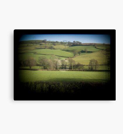 Fields Through the Viewfinder Canvas Print