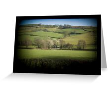 Fields Through the Viewfinder Greeting Card