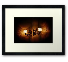 Light Art Framed Print