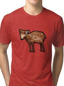 Mouse Deer Tri-blend T-Shirt