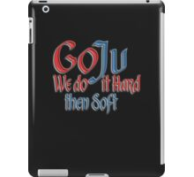 Goju Ryu, Karate, Hard, Soft Style, Combat iPad Case/Skin