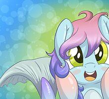 Lillea the sea pony by FluffyXai