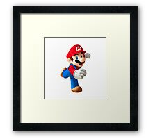 MARIO SHOP Framed Print