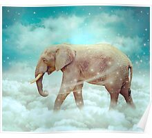 Walk With the Dreamers (Elephant in the Clouds) Poster