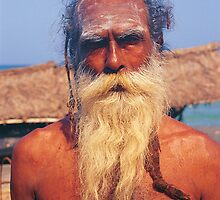 Old Indian Man by Gavri