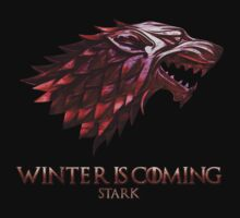 Winter Is Coming - Stark by designbymike