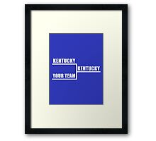 Kentucky Bracket Framed Print