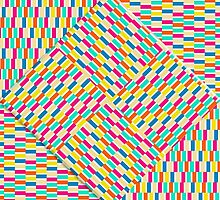 Summer Party Flag Pattern by PETER GROSS