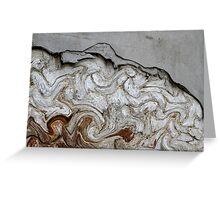 abstract old wall Greeting Card