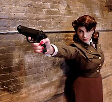 Tanya Wheelock as Peggy Carter (Photography by Misty Autumn Imagery) by mostdecentthing
