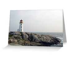 Peggy's point light Greeting Card
