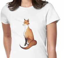 Serious Fox Womens Fitted T-Shirt
