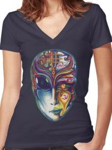 Ancient Future Women's Fitted V-Neck T-Shirt