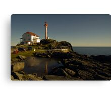 Cape Forchu Nova Scotia Canada Canvas Print