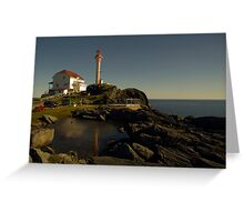 Cape Forchu Nova Scotia Canada Greeting Card