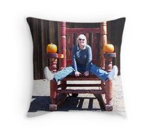 Goofy Grannie Throw Pillow