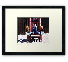 Goofy Grannie Framed Print