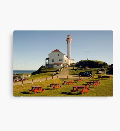 Cape Forchu Nova Scotia Canada Canvas Print