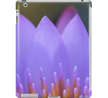Water lily abstract, ii iPad Case/Skin