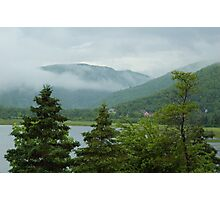 Nova Scotia mist Photographic Print