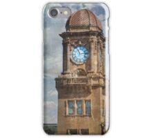 Train Station Clock Tower iPhone Case/Skin