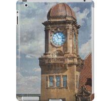 Train Station Clock Tower iPad Case/Skin