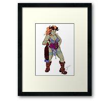 Demonatrix - Linda Framed Print