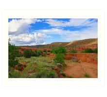 Vivid New Mexico Art Print