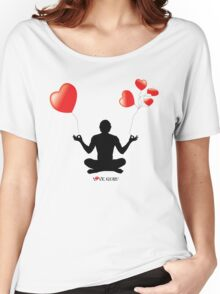LOVE GURU Women's Relaxed Fit T-Shirt