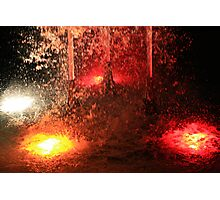 Plaza of the Nations Fountain Photographic Print