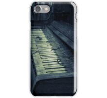 That old piano iPhone Case/Skin