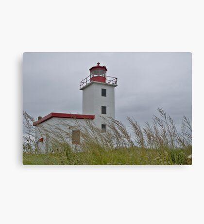 Caribou lighthouse Nova Scotia Canada Canvas Print