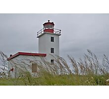 Caribou lighthouse Nova Scotia Canada Photographic Print