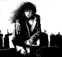 Lady in Ruins by gregvanderLeun
