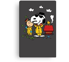 Peanuts BreakingBad Canvas Print