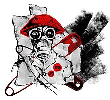 Punk Gas Mask Soldier - WWII Histopunk by ImogenSmid