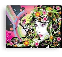 Summer Girl 2 Canvas Print