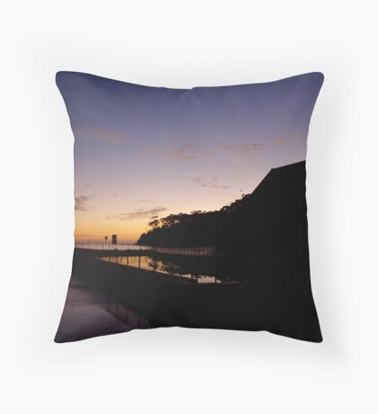 Ulladulla Sea Pool Throw Pillow