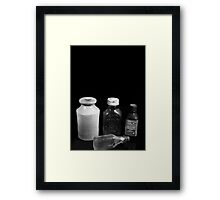 Collections Framed Print