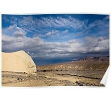Death Valley Landscape Poster