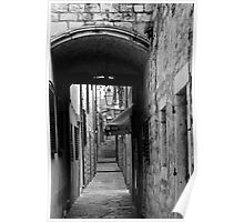 ALLEY AND AWNING Poster