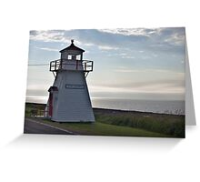 Port George Nova Scotia Canada Greeting Card